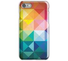 Colorful Abstract Geometric Pattern  iPhone Case/Skin