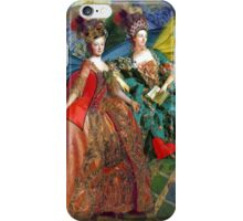 Vintage Golden Women Gemini Gothic Whimsical Collage iPhone Case/Skin