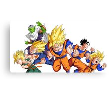 Dragonball Z Canvas Print