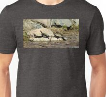 Four Turtles and a Frog Unisex T-Shirt