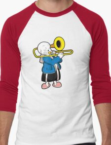 Undertale Sans Men's Baseball ¾ T-Shirt