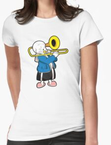 Undertale Sans Womens Fitted T-Shirt