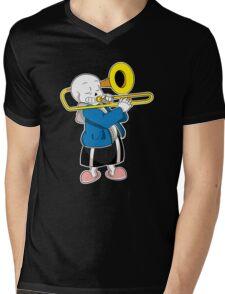 Undertale Sans Mens V-Neck T-Shirt