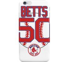Mookie Betts 50  iPhone Case/Skin