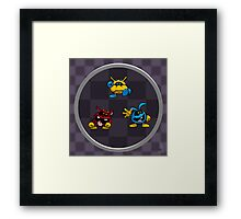 0015 - Viruses! Framed Print