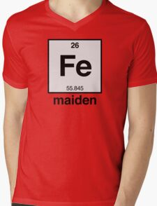 Iron Maiden (Fe)  Mens V-Neck T-Shirt