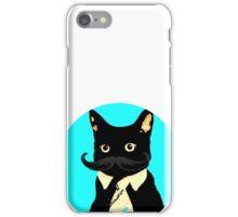Mustache and cat iPhone Case/Skin