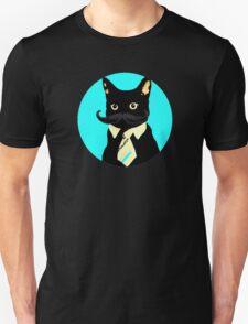 Mustache and cat T-Shirt