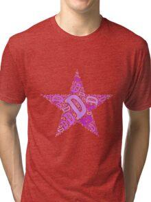 Word Art D Tri-blend T-Shirt