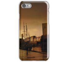 Harbor sunset iPhone Case/Skin