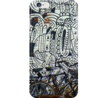 Two bikes at Rotterdam iPhone Case/Skin