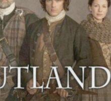 Outlander cast stamp Sticker
