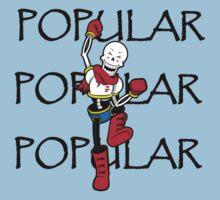 Undertale Papyrus Popular Kids Tee