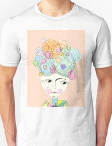 Madame Moonage - a tribute to David Bowie (peach) T-Shirt