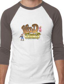 Guns Blazing Men's Baseball ¾ T-Shirt