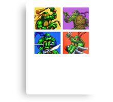 Half Shelled Heroes Metal Print
