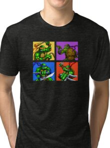 Half Shelled Heroes Tri-blend T-Shirt