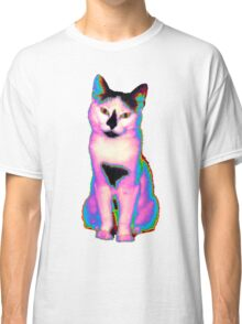 Psychedelic Kitty IV Classic T-Shirt