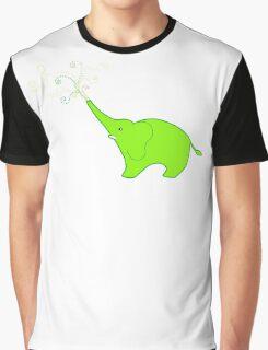 Little Squirt green Graphic T-Shirt