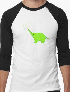 Little Squirt green Men's Baseball ¾ T-Shirt