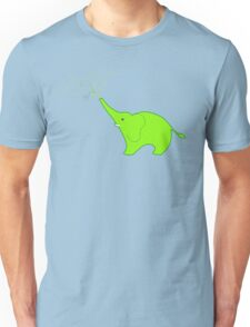 Little Squirt green Unisex T-Shirt