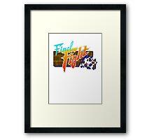 Last Fight Framed Print