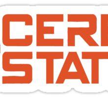 ceres station Sticker