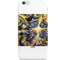Exploding TARDIS Doctor Who 50th Anniversary iPhone Case/Skin