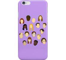 The Office Heads - Custom Lt Purple/Lavender iPhone Case/Skin