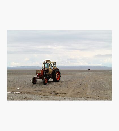 Mongolian Tractor Photographic Print