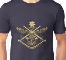 Australian Defence Force - ADF Badge over Blue Velvet Unisex T-Shirt