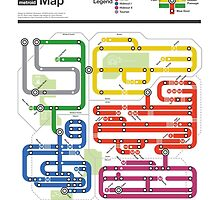 Metroid Metro - NES Maps Series by dcmjs