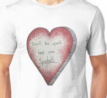 Spaghetti Heart Unisex T-Shirt