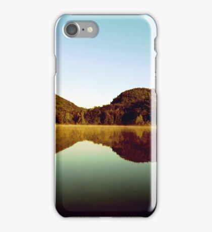 Lake landscape iPhone Case/Skin
