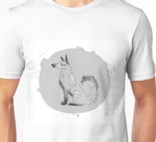 grey dog Unisex T-Shirt
