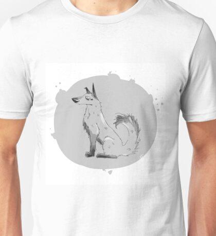 grey dog Unisex T-Shirt