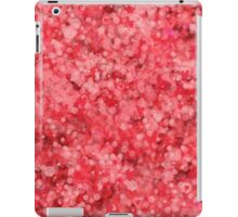 abstract red saint valentines hearts iPad Case/Skin