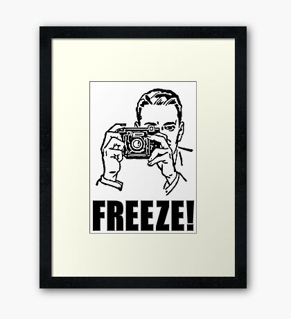 Photography Photographer Gift Cool Framed Print