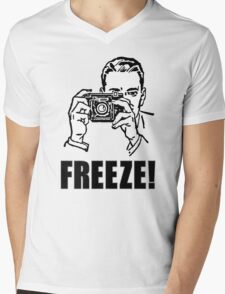 Photography Photographer Gift Cool Mens V-Neck T-Shirt