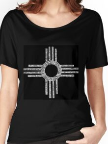 Sacred Zia Women's Relaxed Fit T-Shirt