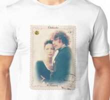 Outlander/Jamie and Claire Fraser stamp Unisex T-Shirt