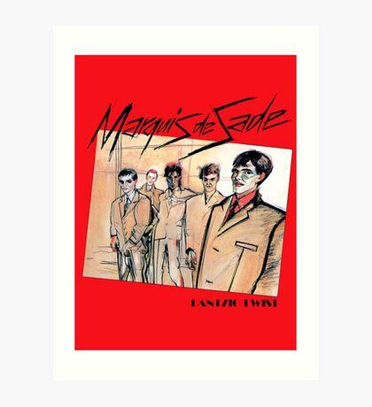 Marquis de Sade - Danzig Twist Art Print