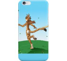 Catch a Tiger by the Tail -Twokinds iPhone Case/Skin