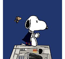 Snoopy Han Solo Photographic Print