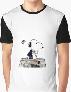 Snoopy Han Solo Graphic T-Shirt