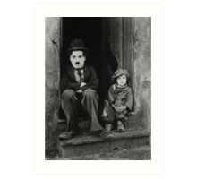 Charlie Chaplin portrait Art Print