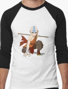 avatar aang Men's Baseball ¾ T-Shirt