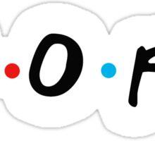 aopi friends Sticker