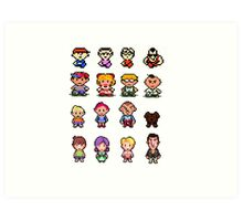 Earthbound/Mother Generations Art Print