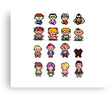 Earthbound/Mother Generations Canvas Print